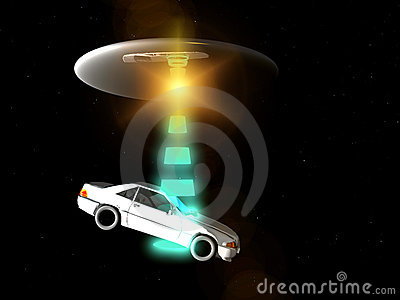 Carro e UFO 65