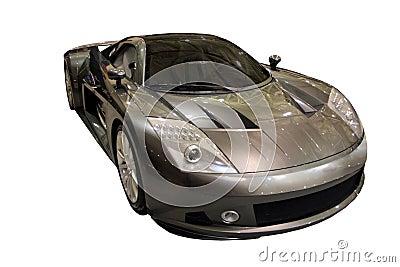Carro ME412 do conceito isolado sobre o branco