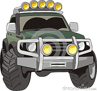 Carro para estradas ruins