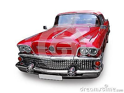Carro retro - clássicos americanos do vintage