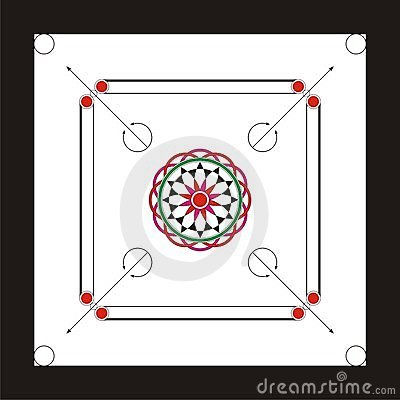 Carrom Board Design