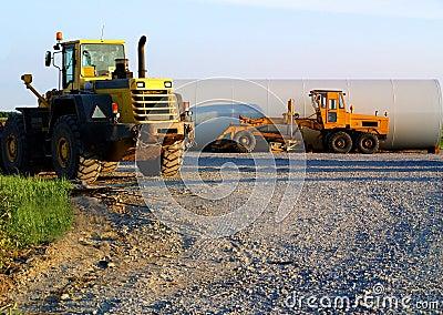 Carros da construção