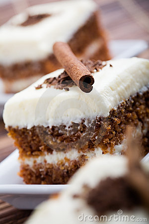 Free Carrot Cake Stock Photography - 12131852