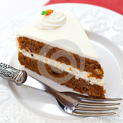 Free Carrot Cake Royalty Free Stock Photos - 28848618