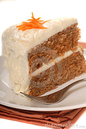 Free Carrot Cake Stock Photo - 8548380