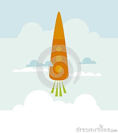 Carrot rocket