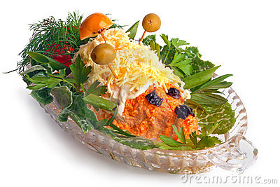 Carrot Salad Royalty Free Stock Photography - Image: 16109097