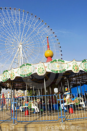 Free Carrousel Royalty Free Stock Photography - 6553407