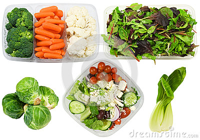 Variety of healthy vegetables