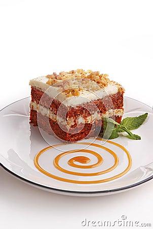 Free Carrrot Cake Royalty Free Stock Image - 15026506