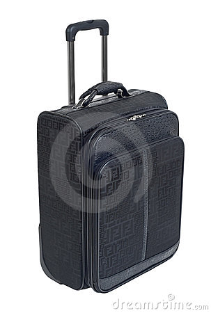 Carry on luggage cutout