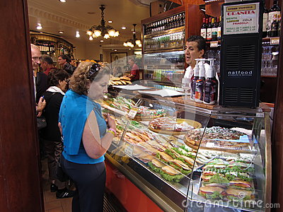Carry Out Food in Florence Editorial Image