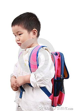 Carry schoolbag