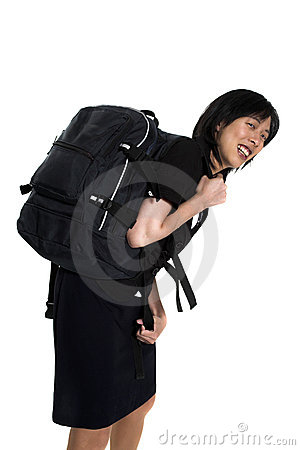 Carrying back-pack