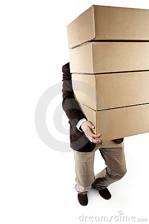 Free Carrying Packages Stock Photos - 668323