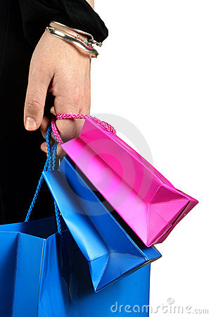 Carrying shopping bags