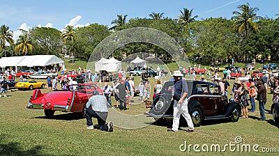 Cars at boca raton resort 02 Editorial Stock Image