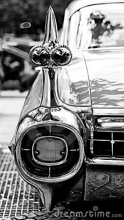 Cars Cadillac Eldorado, a fragment Editorial Photo