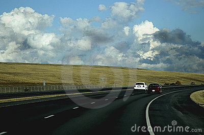 Cars Driving Royalty Free Stock Images - Image: 99909