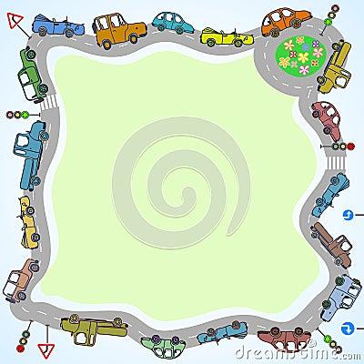 Cars frame