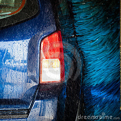 Free Cars In A Carwash Stock Photography - 23467272