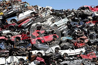 voitures casses