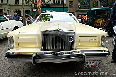 Cars Lincoln Continental Mark V Editorial Photo
