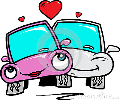 Cars in love