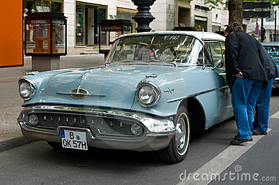Cars Oldsmobile Holiday 88 Editorial Stock Photo