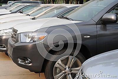 Cars row