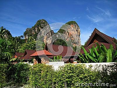 Carst Cliffs Railay Krabi Editorial Photography