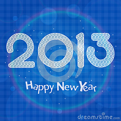 Cartão 2013 da celebração