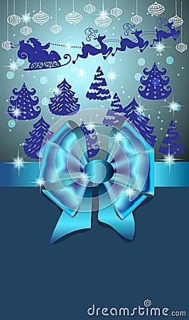 Cartão do ano novo para o projeto do feriado