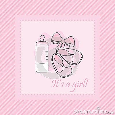 Cartão do bebê