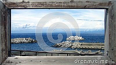 Cartão do oceano