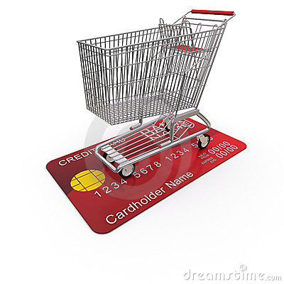 Cart is on the buyer s credit card
