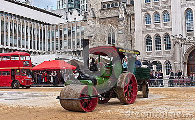 Cart Marking Ceremony in the Guildhall Yard. Editorial Photo