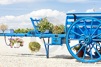 Cart in Provence