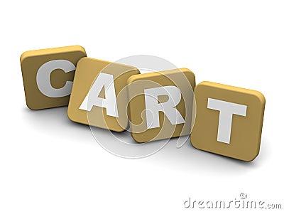 Cart text