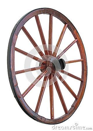 Free Cart Wheel Royalty Free Stock Image - 8561896
