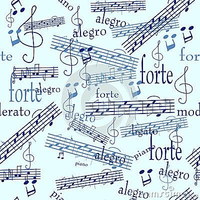 Carta Da Parati Senza Giunte Di Musica Fotografie Stock Libere da ...