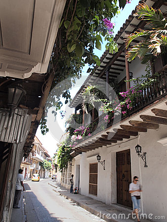 Cartagena Editorial Stock Photo