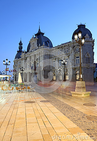 Cartagena City hall, Spain