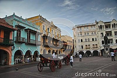 Cartagena, Colombia Editorial Image