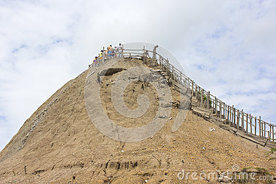 Volcan de Totumo Editorial Stock Image