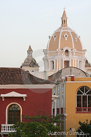 Free Cartagena De Indias Architecture. Colombia Stock Photo - 654840