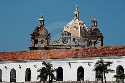 Cartagena de Indias skyline
