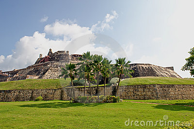 Cartagena fortress Colombia