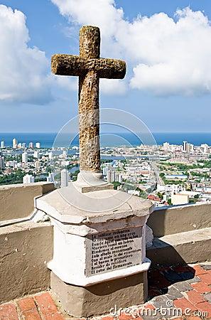 Cartagena religious cross