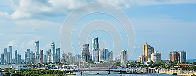 Cartagena s Modern Skyline